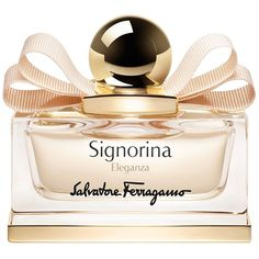 Salvatore Ferragamo Signorina Eleganza Eau de Parfum 1.7 oz. (6.085 RUB) ❤ liked on Polyvore featuring beauty products, fragrance, perfume, beauty, makeup, fillers, no color, perfume fragrances, salvatore ferragamo perfume and salvatore ferragamo