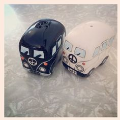 Fun salt and pepper shakers for the combi lover in your life.