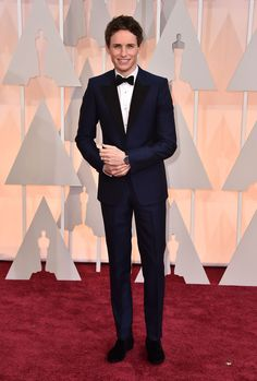 Fashion Hits And Misses From The 2015 Oscars Eddie Redmayne