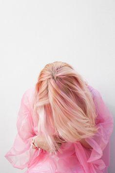Slightly pink