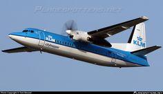 PH-LXK KLM Cityhopper Fokker F50