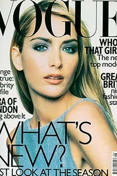 Fashion Magazine Covers - Online Archive for Women (Vogue.com UK) AUGUST 1997