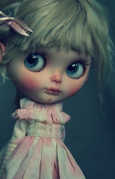 Taradolls Adalheid poupée Blythe doll custom ooak art RBL ooak ears alpaca hair | eBay
