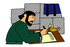 """""""Paul Writes Letters from Prison"""" lesson and teaching resources at www.missionbibleclass.org"""