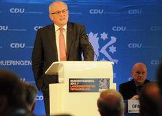 Nominierung 2013: Ansprache von Volker Kauder an die Delegierten.