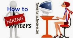 #SEO #Blogging- How to find Good Content Writers for your Writing Needs @vinaivil #Blogspot