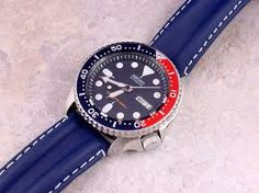 seiko skx009 leather strap - Google Search