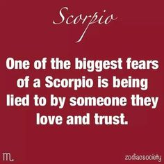 One if the biggest fears.......
