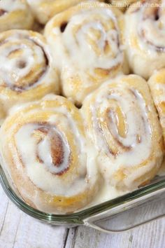 Easy, Three Ingredient Cinnamon Rolls Mind-Blowing Delicious - Love of Family Home