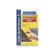 8 In 1 Pet Products Hedgehog Ultra Blend Select Diet 22Oz