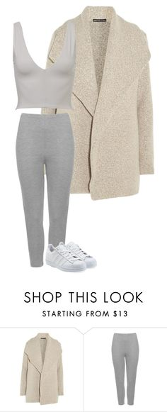 """""""Untitled #22"""" by marcabaceira on Polyvore featuring James Perse, Kookaï, WearAll and adidas Originals"""