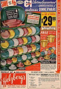 Vintage Melmac ad.
