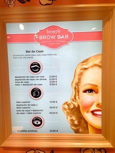 Benefit: Brow bar Benefit Brow Bar, Daily Makeup Routine, Lash Lift, Makeup Studio, Nail Bar, Eyelash Extensions, Eyelashes, Brows, Beauty Hacks
