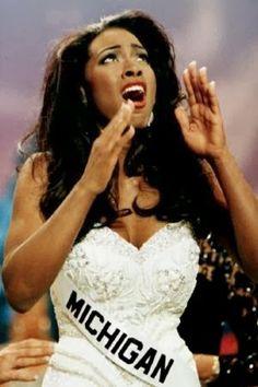 Throwback : Kenya Moore, Miss USA 1993