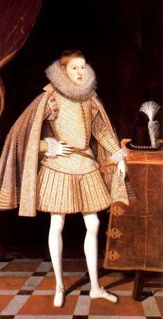 1622 Bartolome Gonzalez - Philip IV
