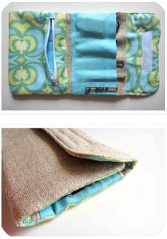 DIY Travel Kit. Learn How Here: http://thegildedhare.blogspot.com/2012/06/tutorial-travel-kit.html