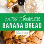 Healthy Banana Bread {So Moist!!!} - iFOODreal