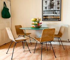 Eclectic Home tours - dining