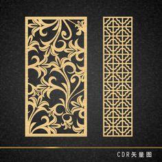 雕刻花形 Laser Art, Laser Cut Wood, Stone Wall Design, Glass Design, Jaali Design, Cnc Cutting Design, Lord Ganesha Paintings, Laser Cut Panels, Floral Room