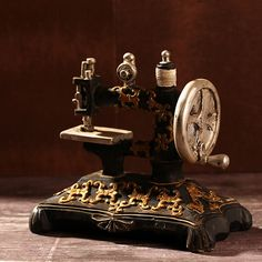 >> Click to Buy << AIBEI-ZAKKA Resin Antique Imitation Sewing Machine Vintage Creative Cabochon Photo Props Home Decoration Crafts Gifts #Affiliate