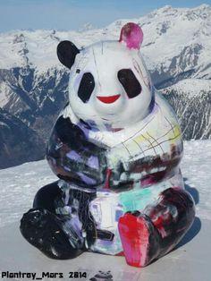 Panda de Julien Marinetti, Courchevel