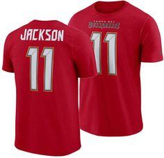15159fdb57 Nike Men DeSean Jackson Tampa Bay Buccaneers Pride Name and Number Wordmark  T-Shirt