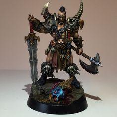 Warhammer Quest Silver Tower Darkoath Chieftain AGE OF Sigmar | eBay