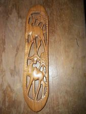 ANTIQUE/VINTAGE AFRICAN WALL CARVING