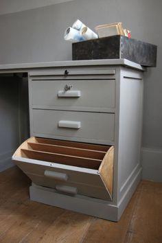 Bureau Atal Becbunzen mobilier vintage industriel Bureaux