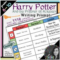 Harry Potter and the Prisoner of Azkaban Writing Prompt