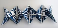 UnBound: A Paper Art Blog: Oxford Blues: A Cut Paper Project, by Gina Pisello