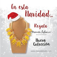 """""""En esta navidad regala DANIELA LAFAURIE ACCESORIOS!!! tu tienda online!!! #Universo365 www.compras365.com.co Lo especial de cada dia para la #Comumidad365"""