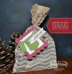 Fun gift wrapping.