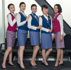 Happy and willing to pose. (not like some other airlines) China Southern Airlines, Airline Cabin Crew, Airline Flights, Flight Attendant, Asian Woman, Like4like, Girly, Dresses For Work, Poses