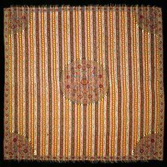 Square shawl, wool  India, Kashmir; beginning of 19th century  H: 161; W: 168 cm copyright david collection copenhagen