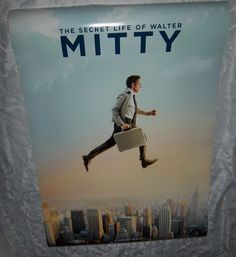"The Secret Life of Walter Mitty 27"" X 40"" Original Movie Poster Fast Shipping"