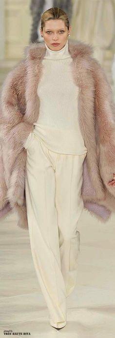 #NYFW Ralph Lauren Fall/Winter 2014 RTW http://www.wwd.com/runway/fall-ready-to-wear-2014