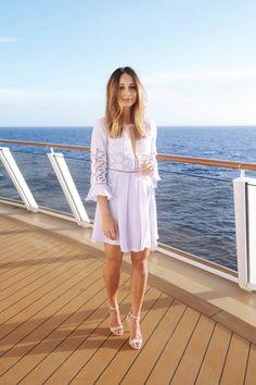 Purple lace dress #dsmomentsblog