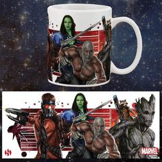 Marvel Guardians of the Galaxy Superhero Team Ceramic Mug - £12.99