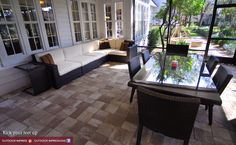 Outdoor living and dining room in Brandon, FL