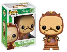 AmazonSmile: Funko POP Disney: Cogsworth Action Figure: Toys & Games