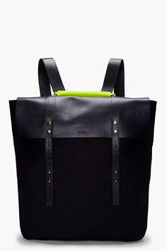 PAUL SMITH  Neon Handle Mainline Backpack