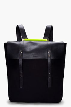 PAUL SMITH  Neon Handle Mainline Backpack