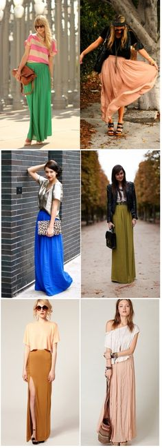 All cute maxi outfits