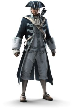 Captain Connor Kenway - Pictures & Characters Art - Assassin's Creed III make way for the captain ...