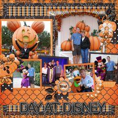 Disney Halloween - Scrapbook.com