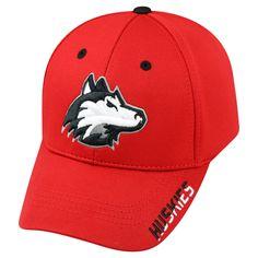 NCAA Baseball Hats Northern Illinois Huskies Red, Men's
