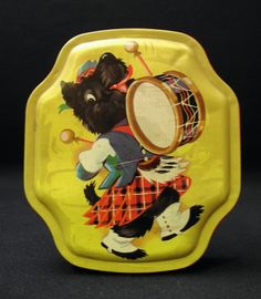 1930's Scottie Dog Candy Tin