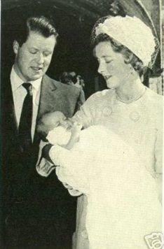 Lady Diana Spencer christening 1961