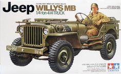 Tamiya 1/35 Willys Jeep MB 1/4 Ton Truck Kit (35219)